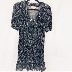 Michael Kors Womens B&W Spring Graduation Dress